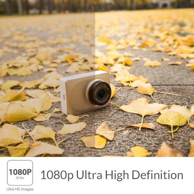 """YI Smart Dash caméra enregistreur vidéo WiFi Full HD voiture DVR caméra Vision nocturne 1080P 2.7 """"165 degrés 60fps caméra pour l'enregistrement de voiture 2"""