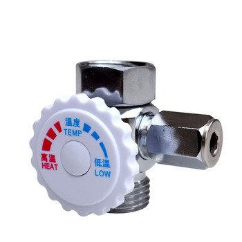 Copper Temperature Regulating Water Flow and Water Temperature Regulating Pressure Relief Valve of Instant Electric Water Heater household tap water pressure reducing valve regulator valve water heater water purifier constant pressure valve brass thickening