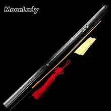Акриловая прозрачная Вертикальная флейта G ключ 8 отверстий музыкальный инструмент высокое качество духовой инструмент с защитным чехлом