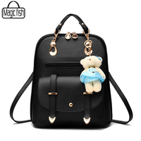 Fashion Travel Backpack Luxury Women Backpacks Casual Good Quality Female Leather Backpack Casual Lady School Backpacks