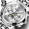 Switzerland Automatic Mechanical Watch Men Binger Luxury Brand Mens Watches Sapphire Wristwatches Waterproof Relogio Masculino