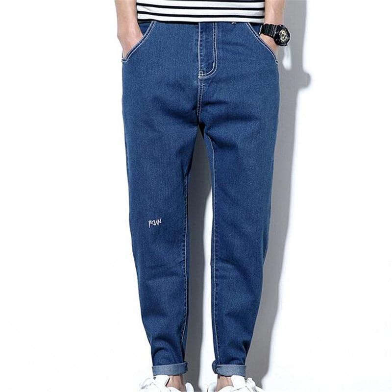 3 Colors Denim Jeans Men High Quality Special Pencil Pants Casual Outwear Water Washed Black Grey Blue Jeans Man Plus Size 5XL 2017 new hot selling good quality kot pantolon straight velet lining black blue colors men jeans pants