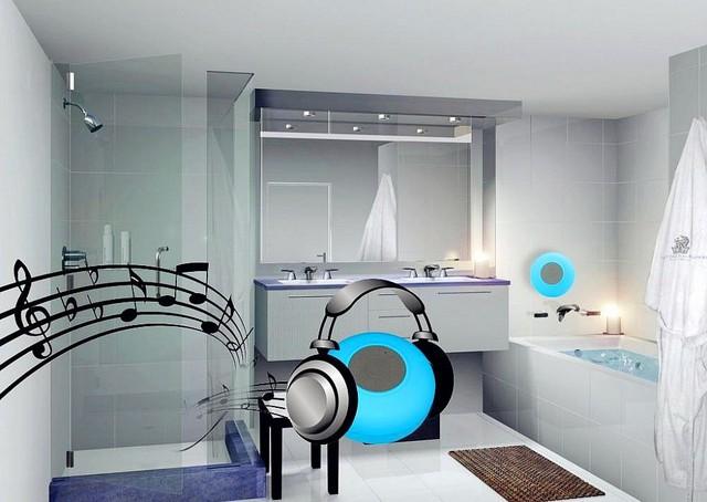 Badkamer Speaker Bluetooth : Originele bts 06 draagbare mini badkamer waterdicht douche zwembad