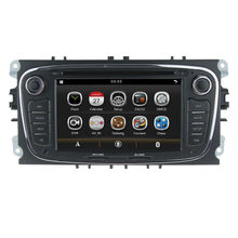 Two Din special Car PC DVD GPS For FORD/FOCUS 2 /MONDEO/S-MAX/CONNECT 2008-2011 With Radio Dual zone RDS Bluetooth SWC USB SD 3G