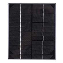 Солнечная панель 6 Вт 12 В солнечная панель питания зарядное устройство для аккумулятора аварийная лампа свет Открытый Кемпинг панели солнечные DIY