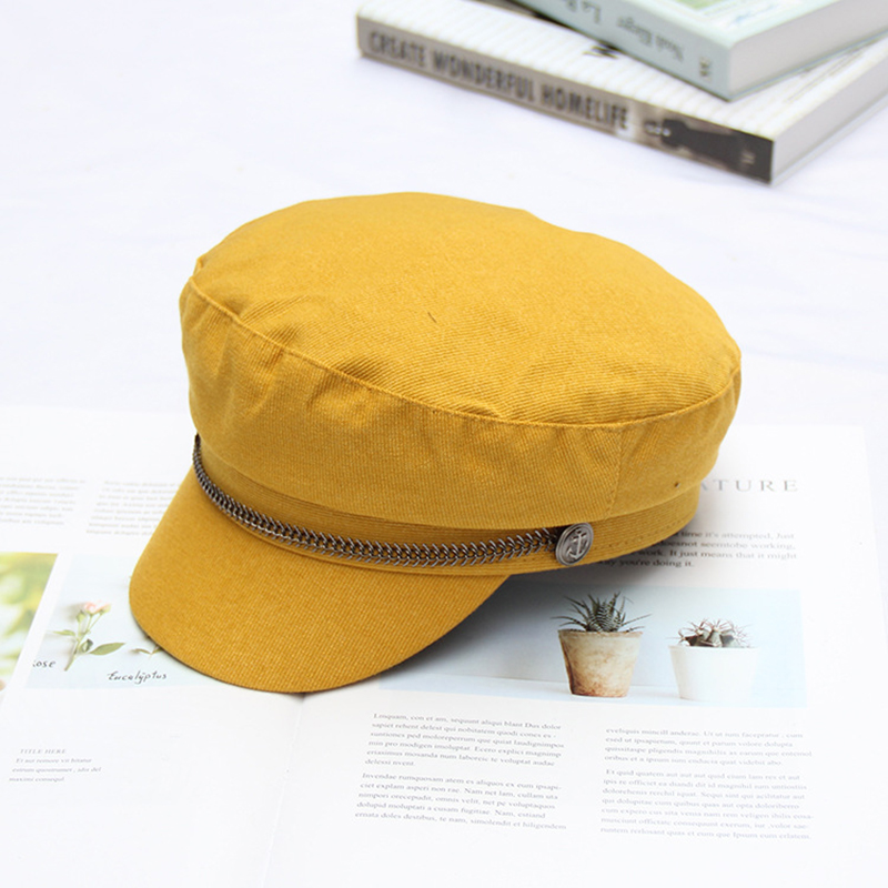 ccdb33e02ee Europeanhat Women Sombrero Mujer Female Autumn and Winter Newspaper Boy Hat  Tide Retro Casual Wild Octagonal Cap-in Newsboy Caps from Apparel  Accessories on ...