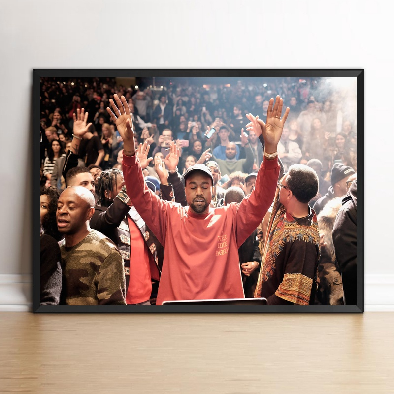 Art Print Poster Mural Kanye West Madison Square Garden No Frame In  Painting U0026 Calligraphy From Home U0026 Garden On Aliexpress.com | Alibaba Group