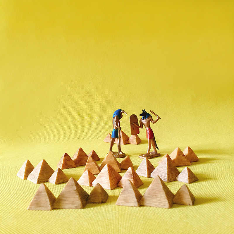 10 pcs Egypt pyramid/doll house//miniatures/cute/fairy garden gnome/moss terrarium table decor/figurine/statue/diy supplies