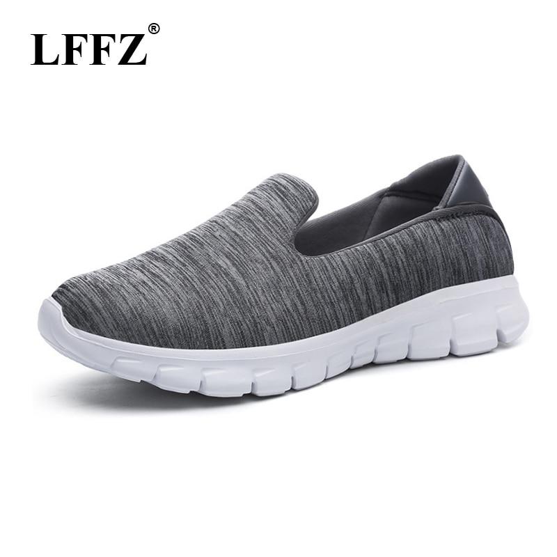 LFFZ Women Slimming Sneakers 2018 New Walking Fitness Swing