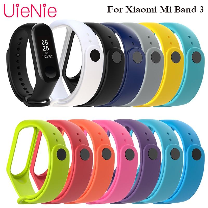 For Xiaomi Mi Band 3 sport strap smart watch silicone wrist xiaomi mi band accessories bracelet XiaoMi