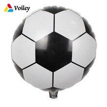 Futebol Balão de alumínio Decoração 2018 Rússia World-Cup Partido Home DIY  Ventilador de Ar Bola De Futebol Clube Casa Decoração. 3f38e9c72a6d3