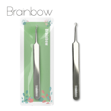 Brainbow Acne Needle Pincet Black Head Pimples Removal Pegede Bend Gib Head Face Care Tools Blackhead Comedone Acne Extractor