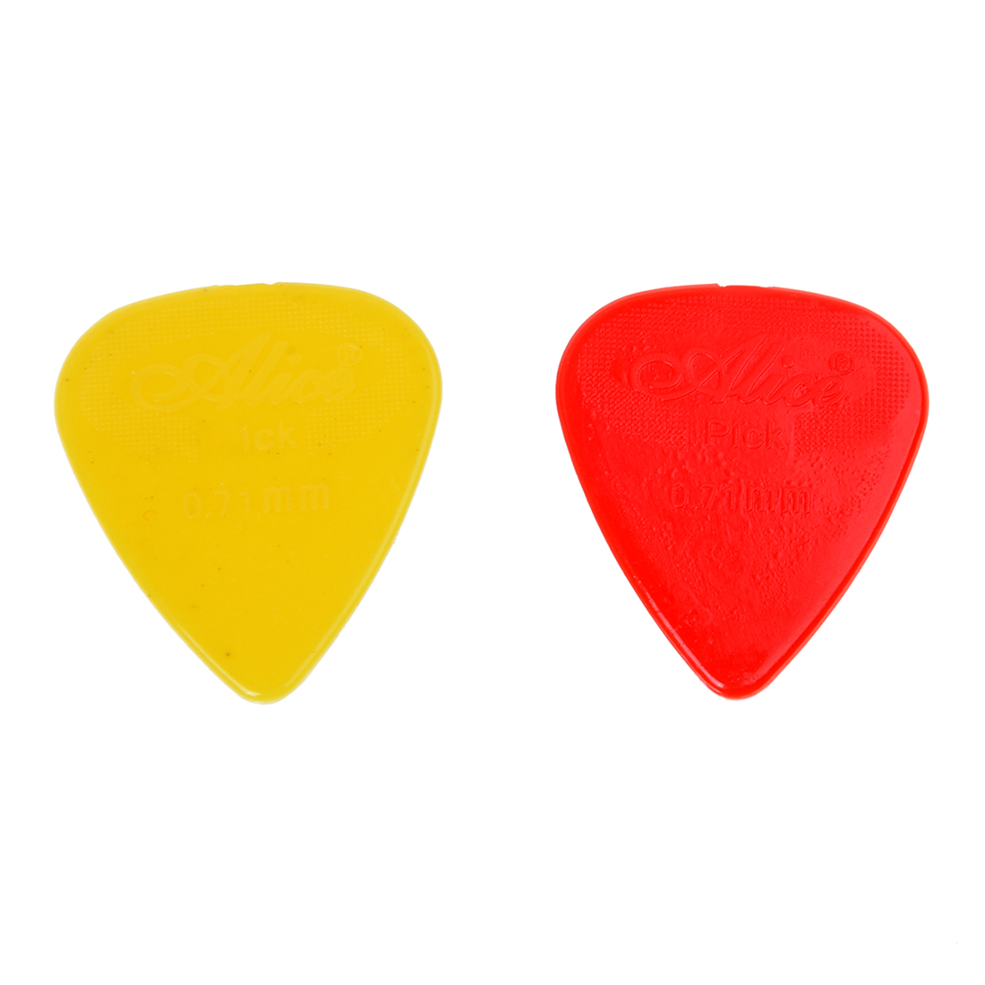 2Pcs 100 X Acoustic Electric Guitar Picks plectron