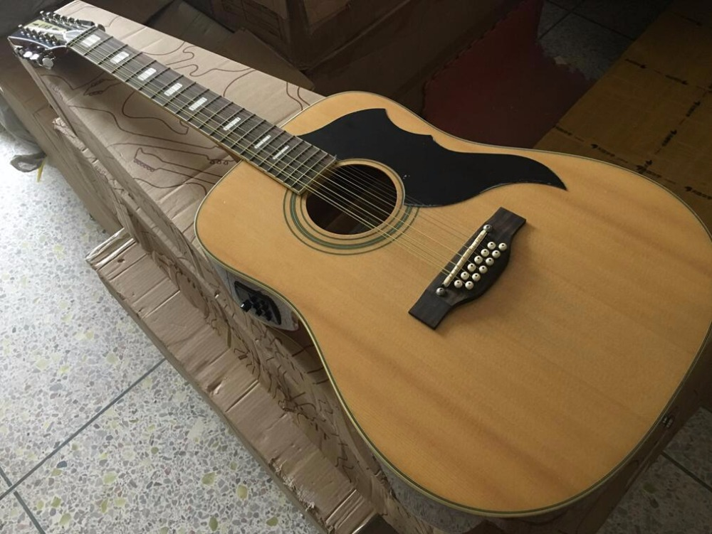 buy high quality eko full size 12 string acoustic guitar with hard case free. Black Bedroom Furniture Sets. Home Design Ideas