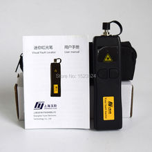 Mini localizador de fuente de luz de fibra óptica, 5km, YJ 200, localizador Visual de fallos VFL 1mw, envío gratis