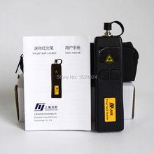 משלוח חינם YJ 200 מקור סיבים אופטי אור מיני 5 km 1 mw תקלה חזותית Locator VFL