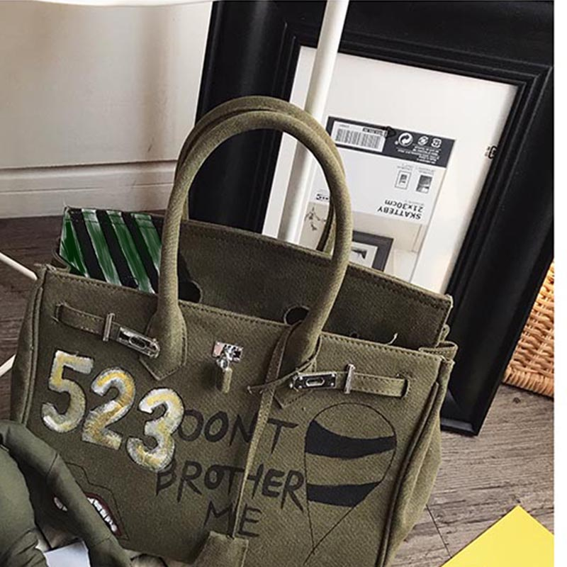 78514fe05261  2018 Women Canvas Totes Oversize 45cm Large Bag Design Luxury Bolsa  Feminina Designer Handbag School Shoulder Messenger Bag Y crossbody bags  for women with ...