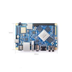 NanoPC-T4 Rockchip RK3399 Cortex-A72 Cortex-A53 VR AI OpenCV TensorFlow MIPI Dual band wifi M.2PC EC20 4G 16GB EMMC
