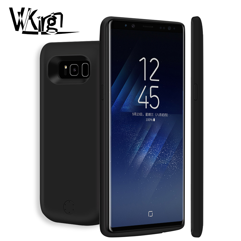 VVKing 6500mAh/5000mAh Battery Charger Case For Samsung Galaxy S8 S8 plus Power Bank Charging Case Ultra Thin Powerbank ChargerVVKing 6500mAh/5000mAh Battery Charger Case For Samsung Galaxy S8 S8 plus Power Bank Charging Case Ultra Thin Powerbank Charger