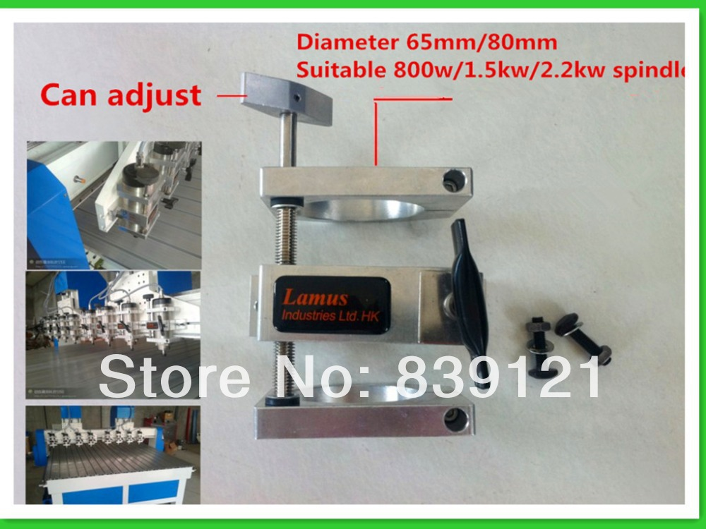 movable cast aluminium bracket 65mm for CNC engraving milling machine spindle free shipping roller skates high quality new design christmas gift for kids mzs757