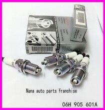 4 шт./лот оригинальные NGK 06H905601A PFR7S8EG платины свечи зажигания для Volkswagen Tiguan Q5 A4L B82.0 06 H 905 601A(China (Mainland))