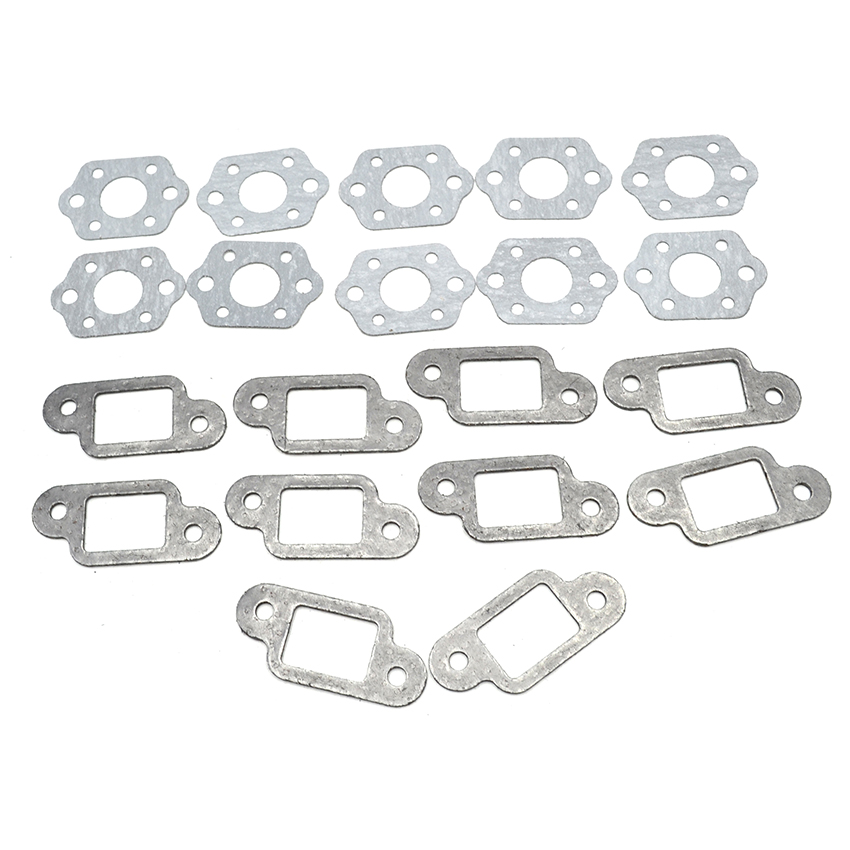 10 Set Carburetor Muffler Gasket Kit For STIHL MS 180 170 MS180 MS170 018 017 Chainsaw Replacement Parts