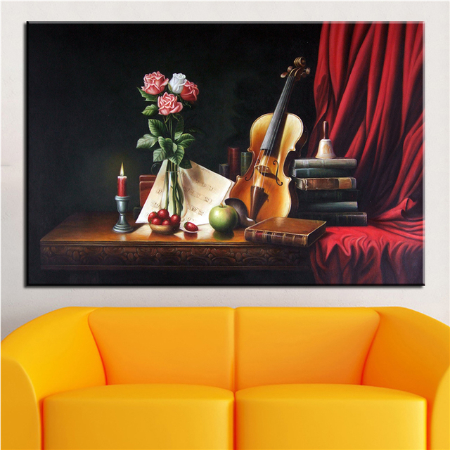 Canvas Painting The Studio Wall Art