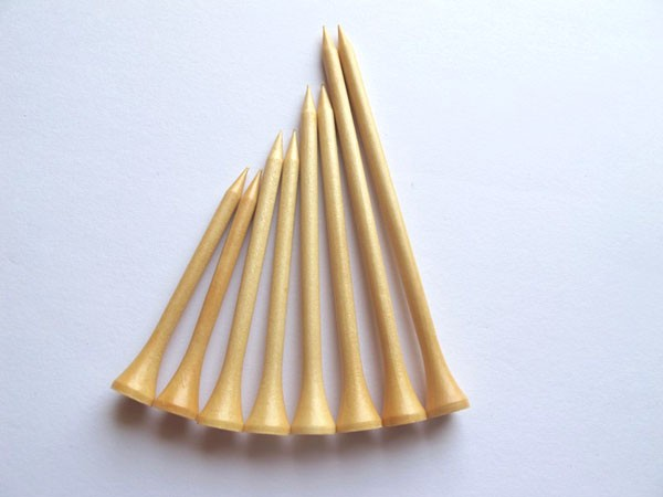 1000pcs 70mm hot sale 100% Guaranteed Wooden Golf Tee