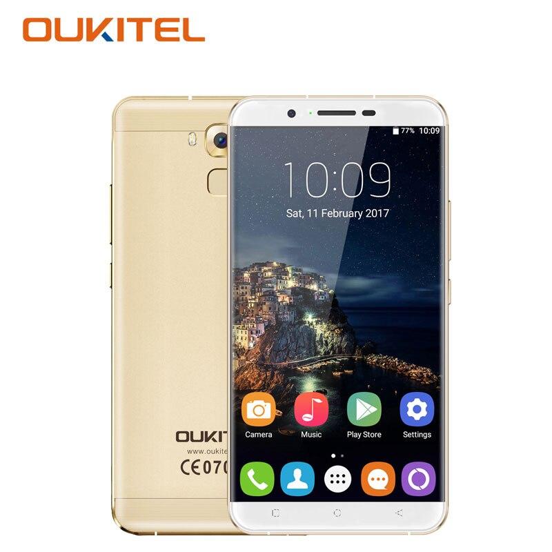 Oukitel MTK6753 U16 Max 4G Smartphone 6 Pulgadas Octa Core 3G RAM 32G ROM 13MP 4
