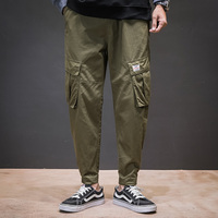 Fashion Cargo Pants Streetwear Pantalones Hombres Male Pants Harajuku Jogger Sweatpant Multi Pockets Trousers