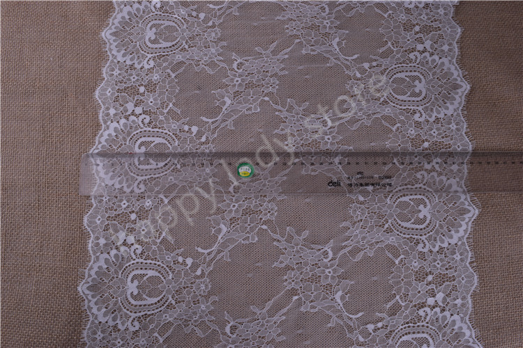 3yards Romantic Net Eyelash  soft Lace Fabric Wedding dress Doll - Arts, Crafts and Sewing - Photo 2