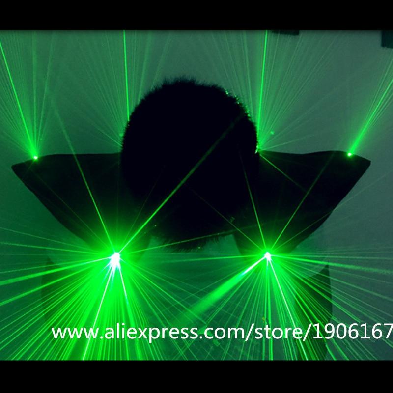 """Naujas atvežtas žalias """"Laserman"""" kostiumas, LED liemenė, - Šventės ir vakarėliai - Nuotrauka 2"""