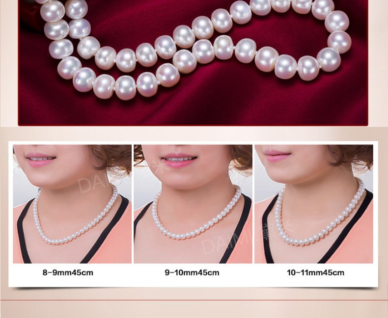 natural pearl necklace  (17)
