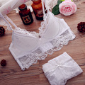 ABCD plus size bra Hot Underwear Set Women Sexy Push Up Bra Sets Lace Padded intimate Brassiere hollow intimate bra & brief Sets