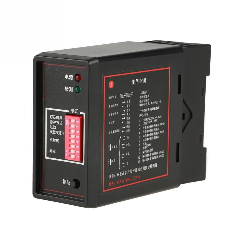PD132 Single Channel Indutivo Detector de Loop Veículo Canal Único Detector Indutivo Para O Estacionamento Do Carro Ferramentas De Medição