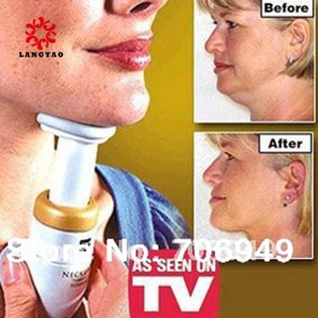 1pc Beauty Care Body Chin Massagers Neckline Slimming Remover Double Chin With Opp Bag As Seen On TV -- MTV022 PR49