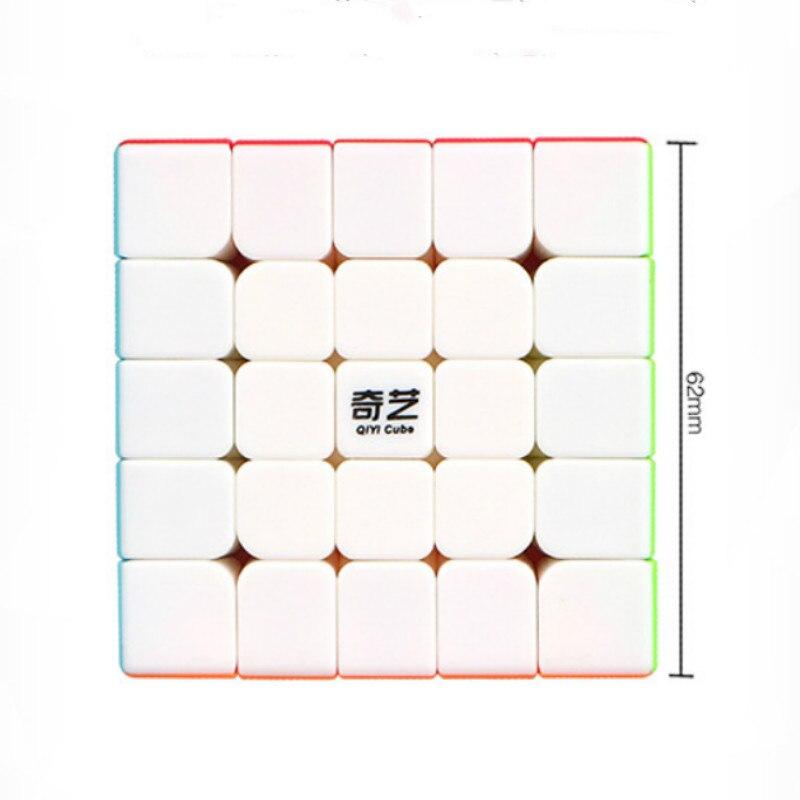 Magic Cubes 5x5x5 Cubo Magico Qiyi Qizheng S Magic Cube 5x5 Stickerless Qizhengs Cubic Antistress 5 By 5 Toys For Children 62mm