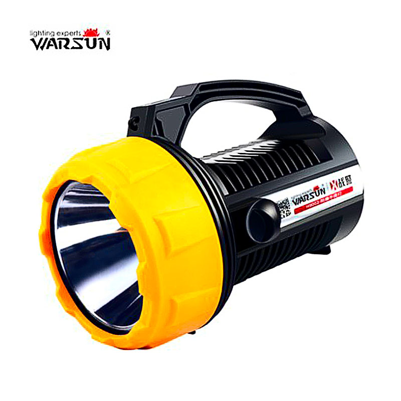 2018 100W HighPower lantern Waterproof Rechargeable Portable Light handheld led spotl spotlight Camping hunting fishing handheld