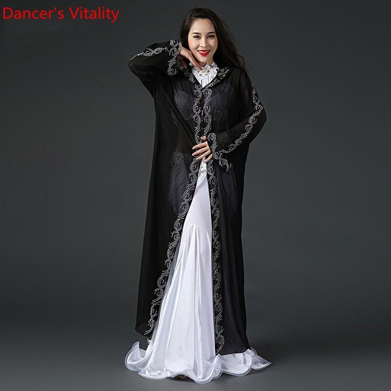 Chiffon Performance Belly Dance Costumes Girl Dress Dresses Belly Dancing Belly Dance Costumes Comfortable cloak