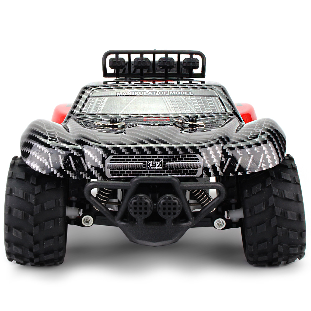 2.4GHz Wireless Remote Control Desert Truck 1/18 18km/H Drift RC Off-Road Car Desert Truck RTR Toy Gift Up To 18km/H Speed