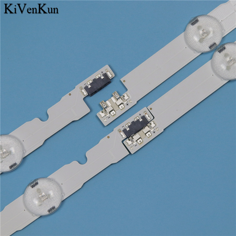 9 Lamps LED Backlight Strip For Samsung UE48H5500AK UE48H5500AW UE48H5270AU UE48H5500AY UE48H5510AK Bars Kit Television LED Band in Computer Cables Connectors from Computer Office