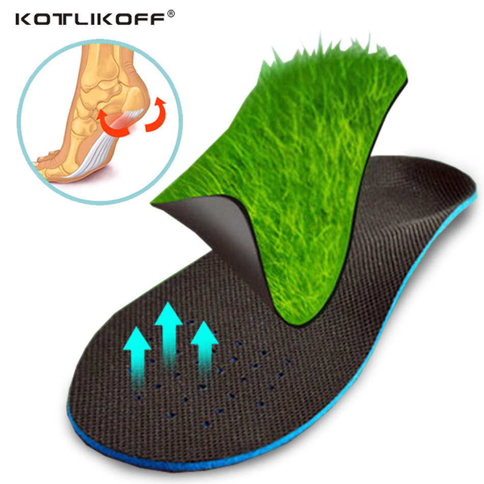 KOTLIKOFF Arch support flat feet insoles foot care arthritis orthopedic orthotics insole plantar fasciitis heel pain women men