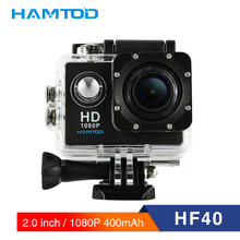 hot deal buy hamtod hf40 1080p wifi action camera 2.0 inch lcd display  diving waterproof mini camcorder sports cameras 120 degree camera