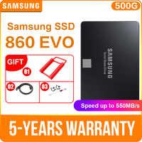 "SAMSUNG 860 EVO 250GB 500GB 1 to disque SSD interne 2.5 ""SATA3 SSD ordinateur portable SSD ordinateur de bureau TLC disco duro ordinateur portable"