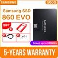 SAMSUNG 860 EVO 250 ГБ 500 1 ТБ Внутренний твердотельный диск 2,5