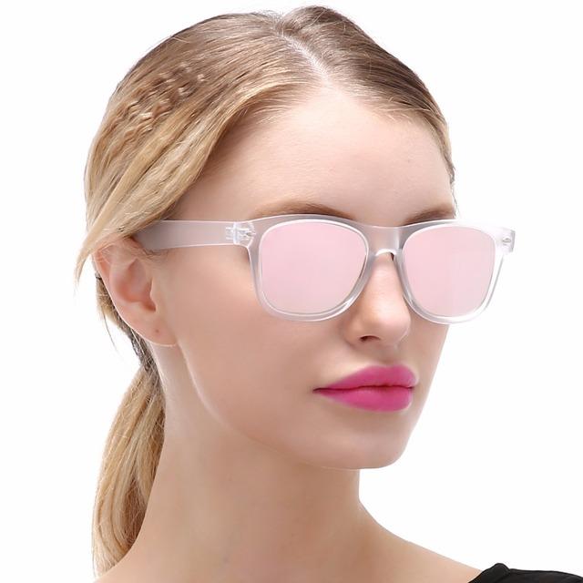 Classic Women Square Polarized Sunglasses UV 400