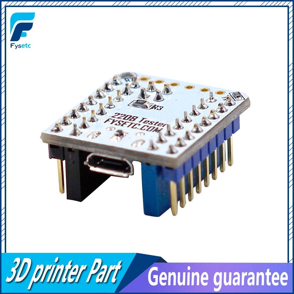 Ordentlich 1 Stück Tmc2208 Tester Mit Stapelbar Sockel Für Prüfung Oder Blinkt Parameter Modi Betrieb Auf Usb Zu Seriell Adapter 100% Garantie 3d Druckerteile & Zubehör