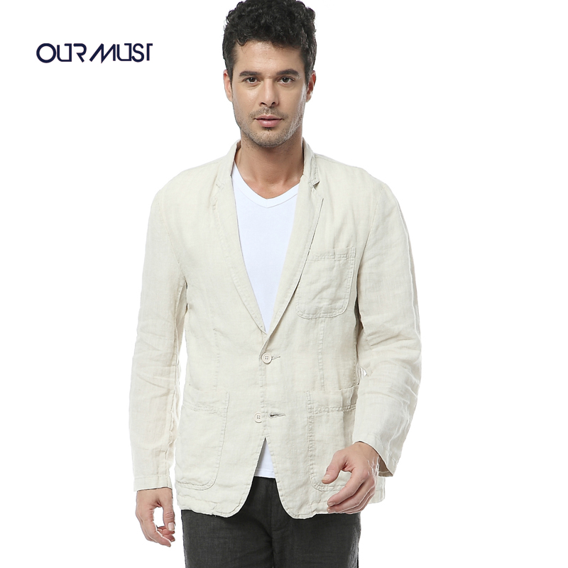 Men Linen Blazer Promotion-Shop for Promotional Men Linen Blazer ...