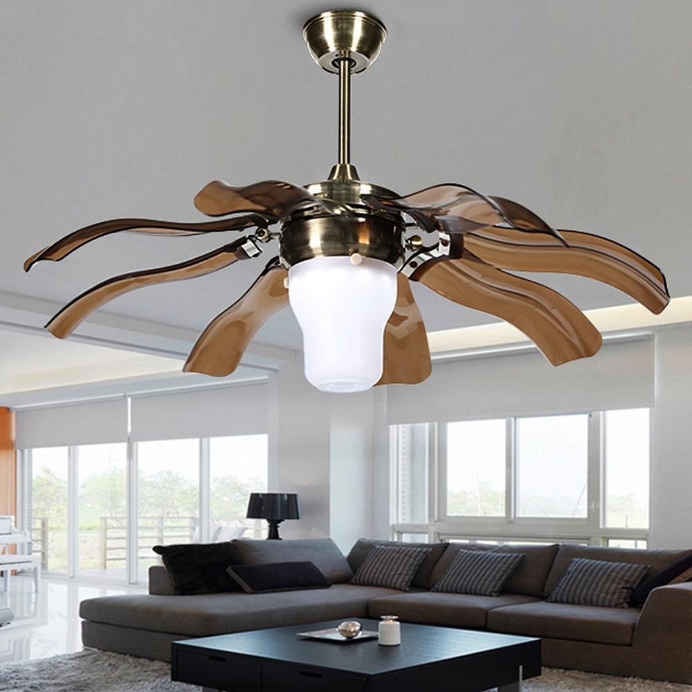 Blade Semi Flush Mount Ceiling Fan