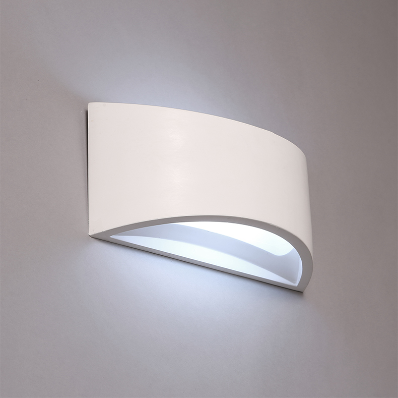 Nordic Style Wall Lamps Contracted Gypsum Wall Lights Modelling Wall Lamp Sitting Room Bedroom Decoration Led Wall Light modern wall lamp contracted led wall lamp sitting room the bedroom wall light contains led light source is free shipping